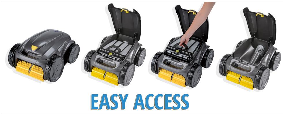 robot piscine electrique vortex-ov3400-easy-access